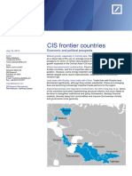 CIS+frontier+countries-+Economic+and+political+prospects
