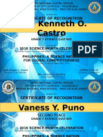 CERTS 2016 Sci Month
