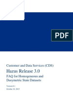 Hazus 3.0 Dasymetric Data Overview Complete