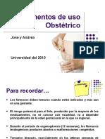 Medicamentos de uso Obstétrico