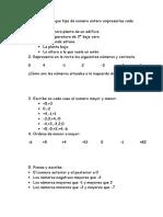 examen matematicas tema 3  6º primaria