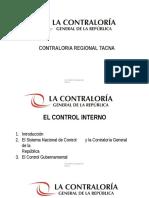 Charla Contraloria Control Interno 2016