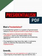 PRESIDENTIALISM