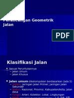 Perancangan Geometrik Jalan