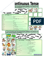10818 Past Continuous Tense With Key Fully Editable