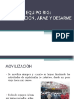 Arme, desarme  movilización de RIG