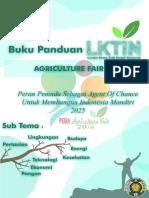 Buku Panduan LKTIN Agriculture Fair 2016