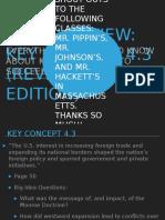APUSH Review Key Concept 4.3 Revised 2015 Edition1