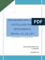 Programación Curso Castellano Para Extranjeros Alcala de Xivert