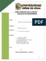 Informe de Aldea