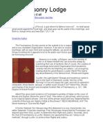 Freemasonry Lodge - The Symbols Say It All