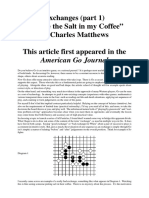 Charles Matthews - Exchanges 1
