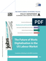 The Future of Work - Digitalisation in the US Labor Market, 2016