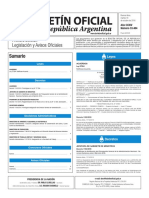 Boletín Oficial de la República Argentina, Número 33.484. 18 de octubre de 2016