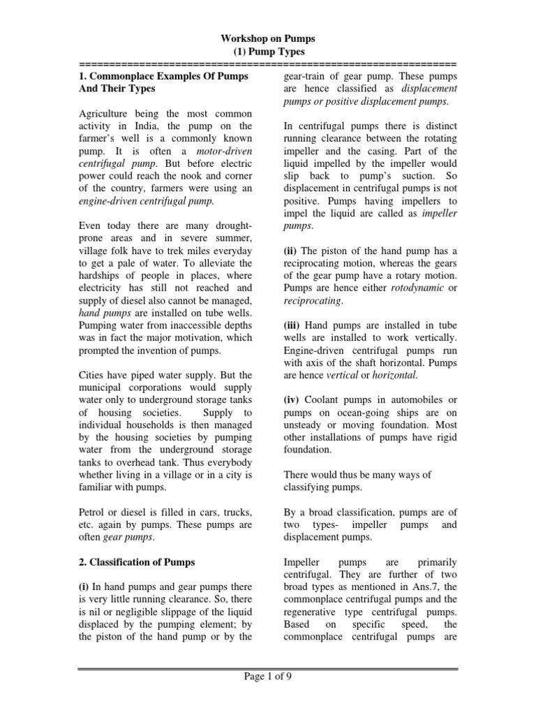 Centrifugal Pump Hand Book | Pump | Pressure