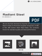 Radiant Steel Catalogue