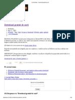 Carti _ eBooks » Download Gratuit de Carti