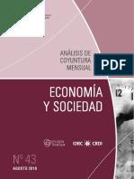 ECONOMIA Y SOCIEDAD - N 43 - AGOSTO 2016 - PARAGUAY - PORTALGUARANI