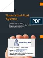 Supercritical Fluid Systems