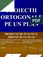 8 Proiectii Ortogonale Pe Plan
