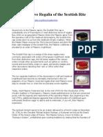 Masons - The Distinctive Regalia of the Scottish Rite