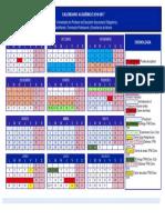 Calendario Academico 2016-17 DEFINITIVO Master Profesorado