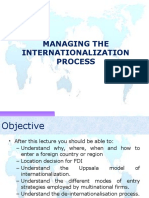INB 480 Internationalization Process Why Where When and How