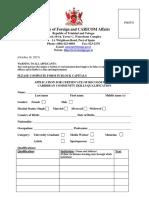 Application Form Revised 2015