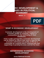 Week 5 - Economic Development