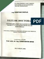 Teza de Doctorat Cristian Vintila 2006
