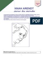 Hannah Arendt - L'amour du monde.pdf