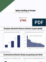 Marketplace Lending in Europe