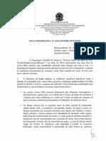 Nota Informativa 143 2014 Febre Amarela