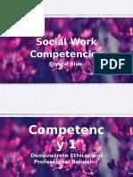 10 social work competencies