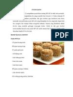 PFM - Pengembangan Resep