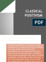 Classical Positivism