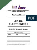 JIF 316 -- PA --SA [16-17]
