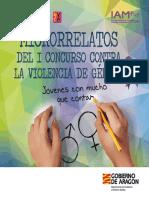 Libro Microrrelatos Contra La Violencia de Género