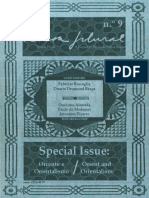 Pessoa Plural - a Journal of Fernando Pessoa Studies, n.º 9, Special Issue «Orient and Orientalism» / Número especial «Oriente e Orientalismo»