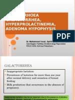 Amenore Galactorea Hyperprolactinemia Adenoma Hypophysis