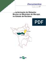 Caracterização do Rebanho Bovino em Mucajaí, Roraima