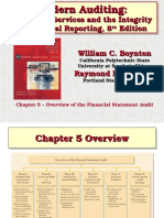 Chapter 5 Overview of the Financial Statement Audit