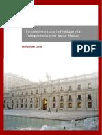 Manual Fortalecimiento Probidad Transparencia Sector Publico