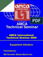 Equipment Vibration