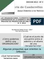 [PD] Presentaciones - Las Organizaciones