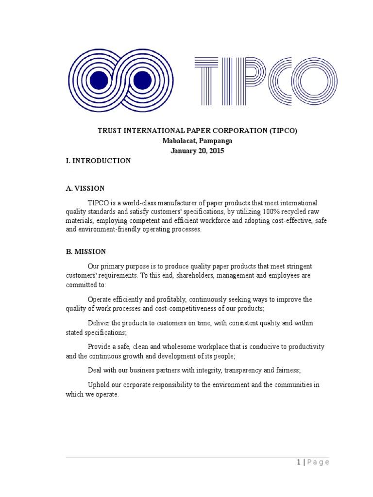 Tipco Final | Newsprint | Pulp (Paper)