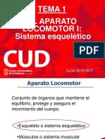 Tema 1_El Aparato Locomotor I