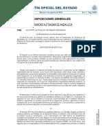Ley 5-2016 Del Dxt de Andalucia