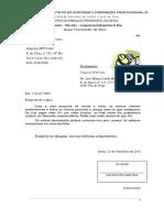 Ficha - Carta - Empresa XPTO