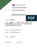 Proyecto de diseño y cálculo de centro de transformación en punta.pdf